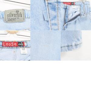 90年代 リーバイス Levi's SILVER TAB シルバータブ LOOSE ジーンズ デニムパンツ USA製 レディースXL(w33) /wag8272