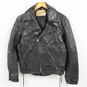 70年代 ショット SCHOTT PERFECT TALONジップ ダブルライダースジャケット メンズS ヴィンテージ 【171020】 /waj7101