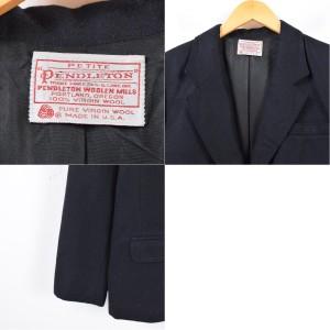 ~80年代 ペンドルトン PENDLETON ウール テーラードジャケット USA製 レディースL ヴィンテージ 【171113】 /waj3550
