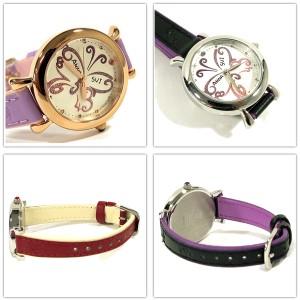 アナスイ Anna Sui 時計 アクセサリー バタフライ デザイン レザー ベルト ウォッチ 全4色