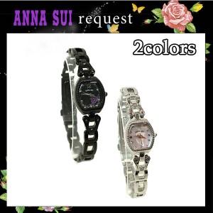 アナスイ Anna Sui 財布 腕時計 アクセサリ バタフライ&ローズ バックプリント ウォッチ 全2色 箱付き