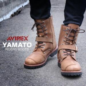 送料無料 【サイズ交換無料】AVIREX YAMATO ヤマト エンジニアブーツ アビレックス