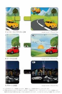 手帳 ケース/SH-05F/車の風景 自動車 車/Disney Mobile/手帳型/デザイン/カバー