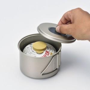 スノーピーク クッカー  SCS-004R ソロセット 焚【Mini Solo Cook Set Non-stick】【アルミクッカー】【ソロキャンプ】【登山】【クッカ
