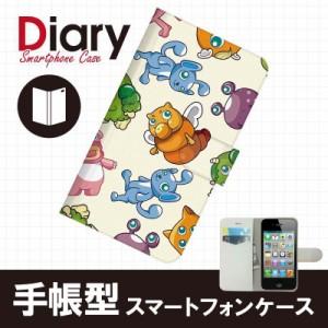iPhone 4S/アイフォン フォーエス用ブックカバータイプ(手帳型レザーケース)キャラクター iPhone4S-CAT043-2