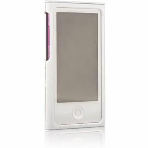 """""""ブライトンネット Rubber + Silicon Case Setfor iPod nano 2012 BI-7NRCASE/WH"""""""