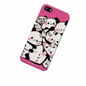 ドレスマ iPhone SE/5s/5(アイフォン ファイブ エス)用シェル カバー ハード ケース もちもちぱんだ IP5S-12PA013