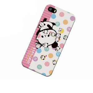 ドレスマ iPhone SE/5s/5(アイフォン ファイブ エス)用シェル カバー ハード ケース もちもちぱんだ IP5S-12PA018