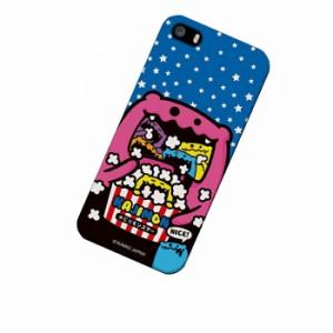 ドレスマ iPhone SE/5s/5(アイフォン ファイブ エス)用シェルカバー かじりモンスター KAJIMON(カジモン) IP5S-12KJ007