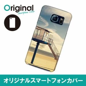 Galaxy S6 SC-05G ギャラクシー エスシックス ケース ビンテージ スマホカバー ハードケース ハードカバー 携帯ケース SC05G-08BNKB050
