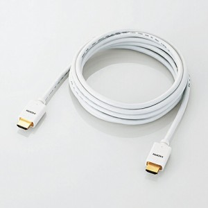 エレコム Mac向けHDMIケーブル 3.0m ホワイト [エレクトロニクス] CAC-APHD14E30WH