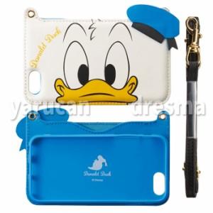 iPhone6s iPhone6対応ケース ディズニー ダイカット バックカバー(ドナルドダック)Disney Donald 背面ケース i6S-DN34