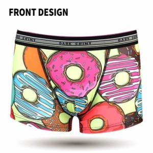 メンズボクサーパンツ DARKSHINY Donut 人気 メンズ 男性下着 アンダーウェア プレゼント 誕生日 景品 ダークシャイニー MOWA01