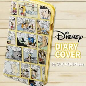 iPhone7 ケース ディズニー ダイヤリーカバー(ピノキオ)Pinocchio ピノッキオ サンクレスト iP7-DN07