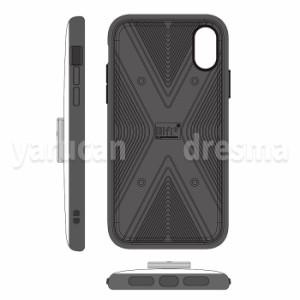iPhoneX対応 ケース カバー IIII fitリング スマホーケースとリング一体型 スマホリング付 iPhoneケース カラフル シンプル