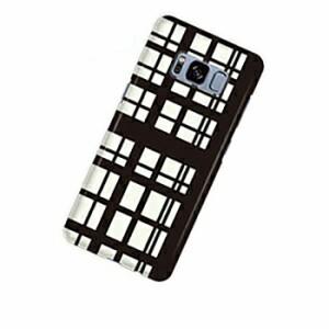 ドレスマ チェック カバー ケース スマホ ハード GALAXY S8 SC-02J/SCV36専用