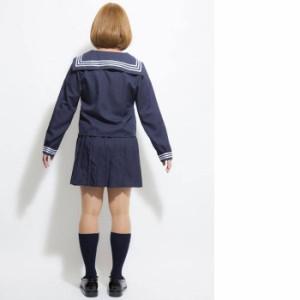 PLUME HOMME ウィンターセーラー 2点セット JK 女子高生 セーラー服 メンズ コスチューム コスプレ 衣装 仮装 変装 男女兼用 ジグ 7174