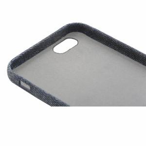 iPhone 6s/6用ケース カバー ファブリックシェルケース SLIM SHELL Fabric デニム柄 LEPLUS LP-I6SLTSFDM