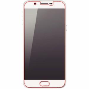Galaxy A8 SCV32 ギャラクシーA8 保護フィルム 5H耐衝撃ブルーライト光沢アクリルコートフィルム レイアウト RT-GA32VFT/S1