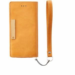 iPhone 6 アイフォンシックス ケース/カバー 薄型フリップケース オレンジ トリニティ TR-UTFNIP144-OR