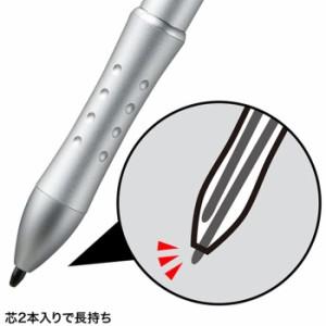 入力ペンのみの機能を持つシンプルタイプ 入力ペン(シルバー) サンワサプライ PDA-PEN14N
