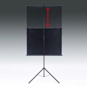 プロジェクタースクリーン用三脚 壁掛け式用 大サイズ サンワサプライ PRS-KBSTL