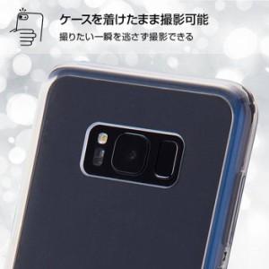 Galaxy S8+ SC-03J/SCV35 ギャラクシーS8プラス ケース カバー ハイブリッドケース クリア レイアウト RT-GS8PCC2/C