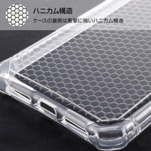 iPhoneX ケース カバー 耐衝撃 クラッシュレジスト ライト レイアウト RT-P16SC1