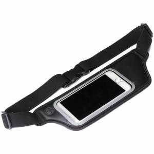 PGA iPhone/スマートフォン/オーディオプレイヤー用スポーツ仕様ウエストポーチ PG-SPB02BK