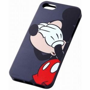 レイアウト iPhone5s/5(アイフォン5s/5)用カバー ディズニー・クローズアップソフトジャケット/ミッキー RT-DP5SH/MK