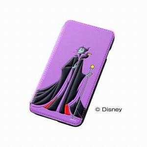 レイアウト iPhone 6 Plus用 ディズニー・ポップアップ・ブックカバータイプ・レザージャケット 合皮タイプ マレフィセント RT-DP8J/ML