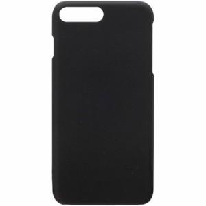 iPhone7 Plus 5.5inch ポリカーボネイト ハードケース ラバーブラック PGA PG-16LPC12BK