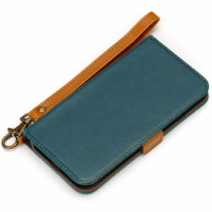 iPhone7 4.7inch フリップカバー ブルー PGA PG-16MFP03BL