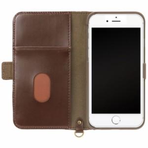 iPhone 7/6s/6用 フリップカバー ナイロン / ミッキー&ミニー PGA PG-DFP215MM