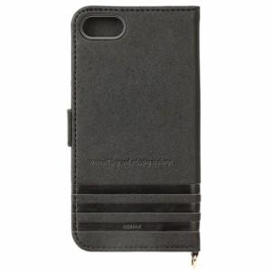 iPhone 7用 フリップカバー リラックマ/モノクロ PGA YY01703