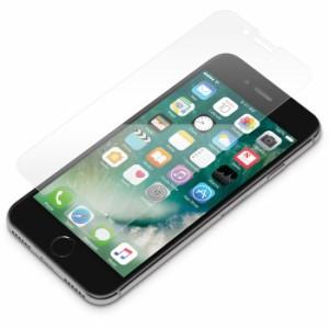 iPhone8/7/6s/6 用 液晶保護ガラスフィルム 光沢 PGA PG-17MGL12