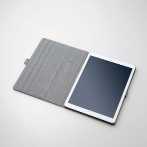 iPad Pro 12.9インチ 2017年 2015年モデル用ソフトレザーフラップカバー 360度回転 エレコム TB-A17L360