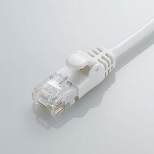 エレコム [ホワイト][3m][Cat6準拠]配線スッキリ!取り回しがしやすいGigabit やわらかLANケーブル(Cat6準拠) LD-GPY/WH3 LD-GPY/WH3
