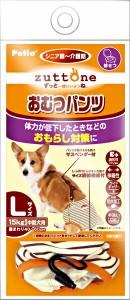 ペティオ 老犬介護用 おむつパンツ サスペンダー付き L(中型犬用)