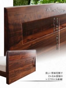 棚・コンセント付すのこベッド Mowe メーヴェ デュラテクノマットレス付き ダブルサイズ ダブルベッド ダブルベット マットレス付き