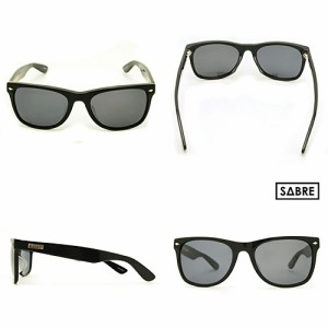 EASYRIDERS/イージーライダース/Sunglasses THE VILLAGE/GLOSS BLACK/GREY LENS 【サングラス】 <セイバー/紫外線カット/黒/プラスチ