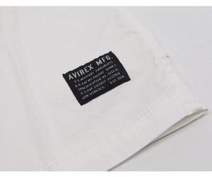 AVIREX[アヴィレックス] ストレッチ ジップ 半袖シャツ/6165101/送料無料