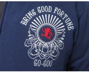 悟空本舗[ゴクー]GO-COO BRING GOOD FORTUNE 和柄ジャケット/日本製/GSJK-8046/送料無料