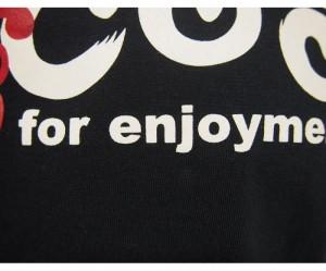 悟空本舗[ゴクー]GOCOO ロゴ 和柄Tシャツ/半袖/日本製/GT-8109