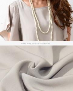 【形が選べる*オールインワン風セットアップ】ガウチョ パンツドレス 大きいサイズ 結婚式 お呼ばれ【パーティードレス 袖あり】