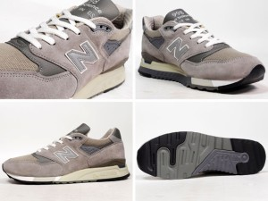 【OUTLET】new balance[ニューバランス] M998 made in U.S.A. LIMITED EDITION GY