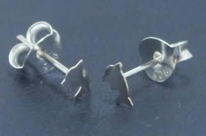 プチドルフィンスタッドピアス/1ペア販売 両耳 イルカ シンプル 小さい 可愛い ミニ シルバー925 スターリングシルバー 銀 高級 オリジナ