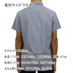 アメリカンイーグル AMERICAN EAGLE 正規品 メンズ 半袖シャツ AE Chambray Short Sleeve Shirt 0154-8645 BLUE