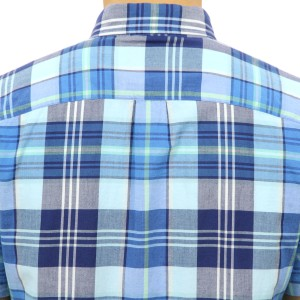 アメリカンイーグル AMERICAN EAGLE 正規品 メンズ 半袖シャツ AEO SHORT SLEEVE MADRAS SHIRT 2154-9804-400