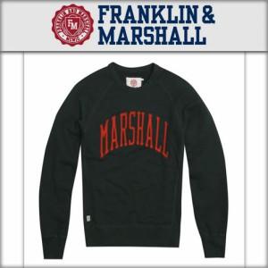 フランクリンマーシャル FRANKLIN&MARSHALL メンズ フリース CERWNECK FLEECE FLMC037 PEAK
